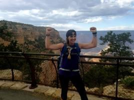 Post-hike, Grand Canyon