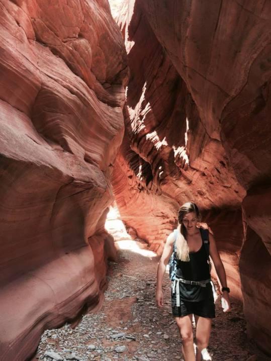 Peek-a-boo Slot Canyon, Utah
