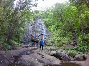 Ka'au Crater Trail, Oahu