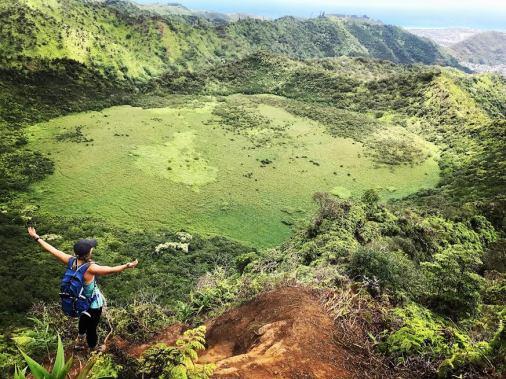 Ka'au Crater, Oahu