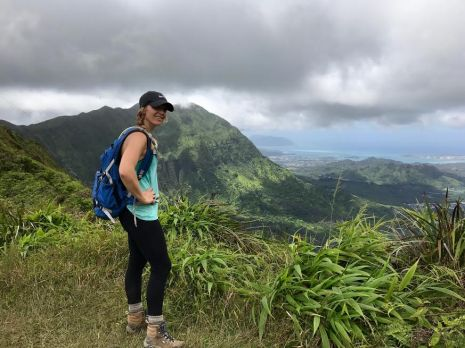 Ka'au Crater Trail, Oahu