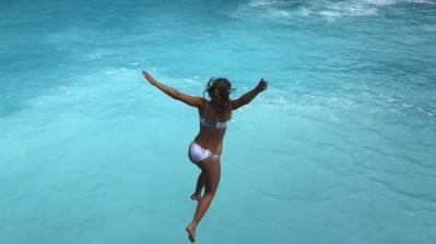 Cliff Jumping - Blue Lagoon, Nusa Ceningan