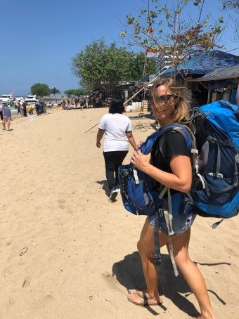 En Route to Nusa Islands