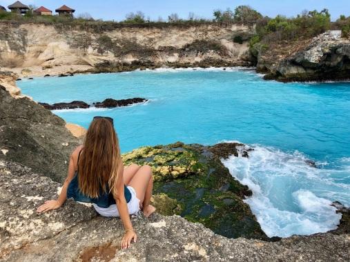 Blue Lagoon, Nusa Ceningan
